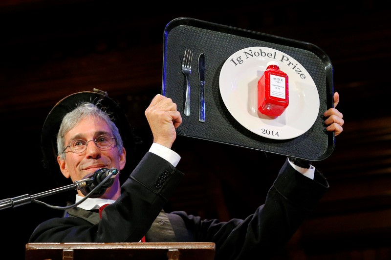 Jesus toast, banana peels, ugly art research wins Ig Nobel prize