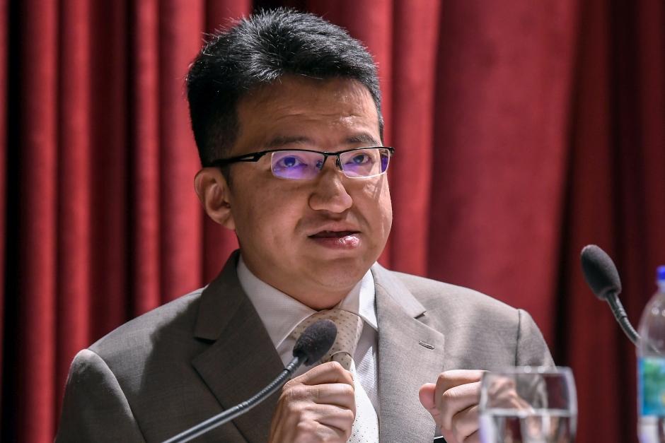 Deputy Defence Minister Liew Chin Tong. u2013 Bernama