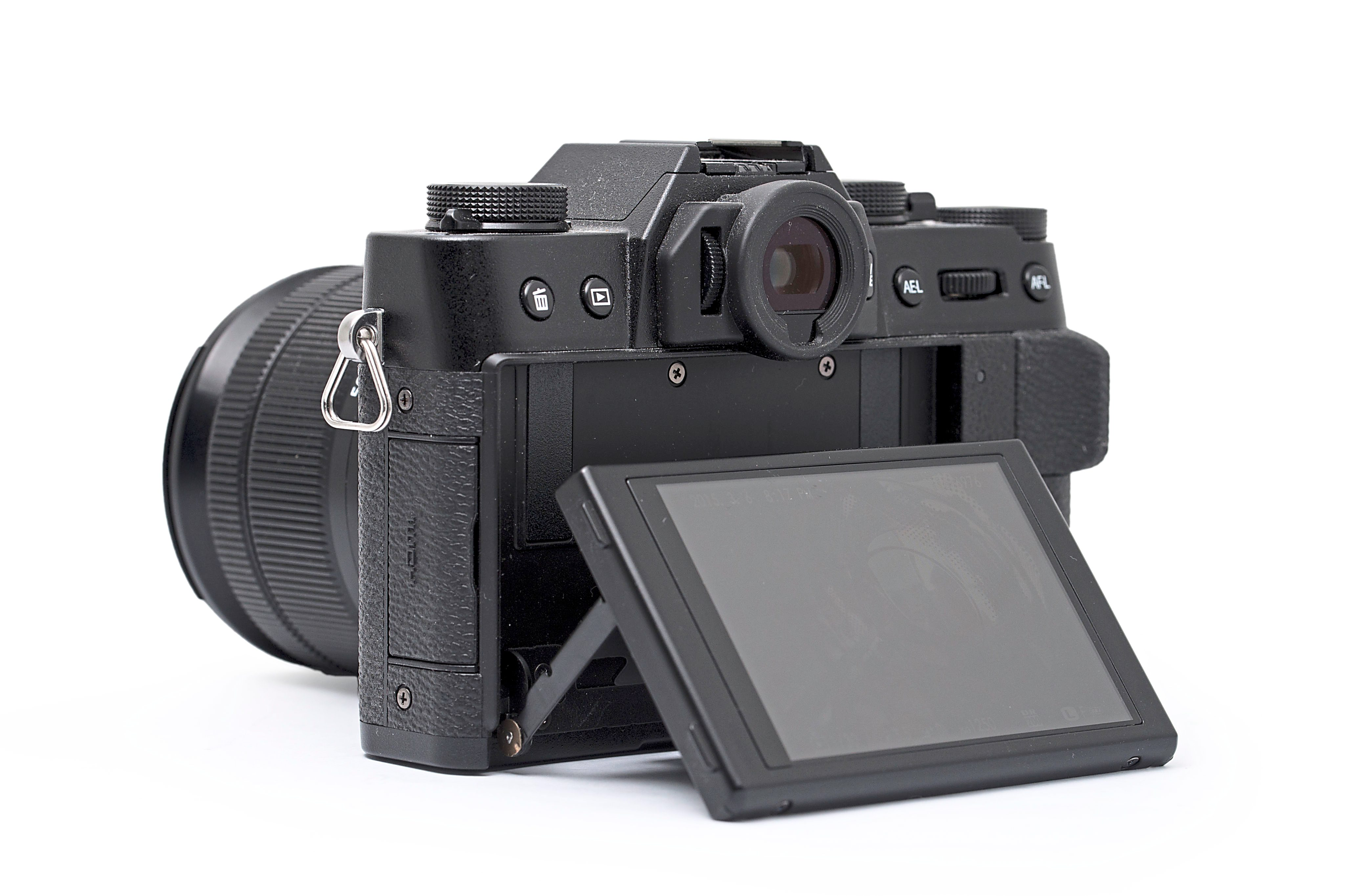 Tilt it: the Fuji X-T10 comes with a 3in tiltable LCD screen