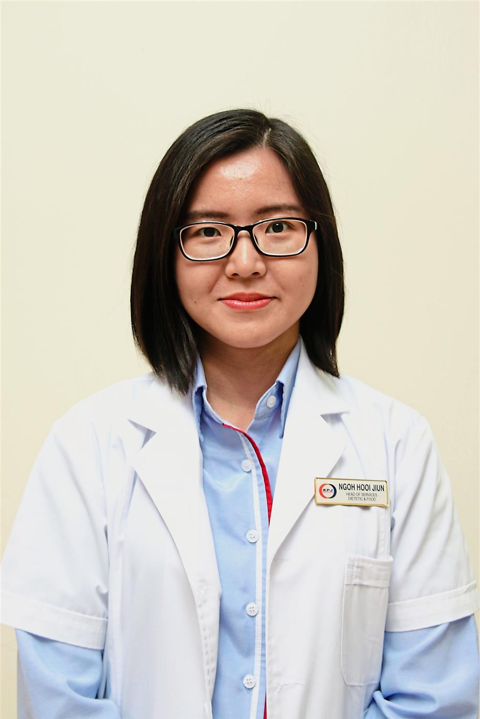 Sound advice: Dietitian Ngoh Hooi Jiun says that by swapping meat and other animal products for more beans, legumes, nuts, seeds, vegetables and fruits, people are not only losing weight but decreasing the risk of getting chronic diseases.