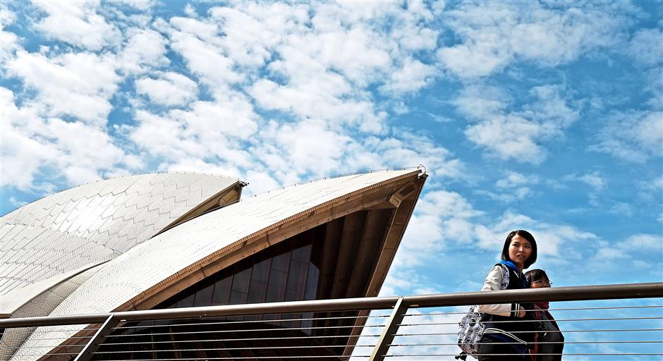 Australia is looking to tourists from Asia, especially China, to give its economy a boost. – AFP