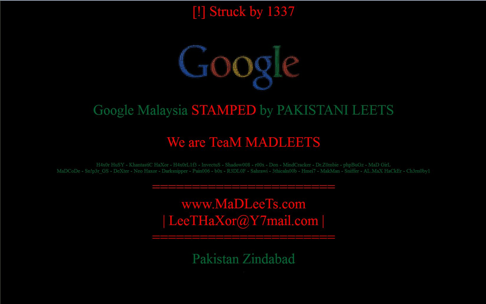 Google Malaysia hit by DNS poisoning (Updated) | The Star Online