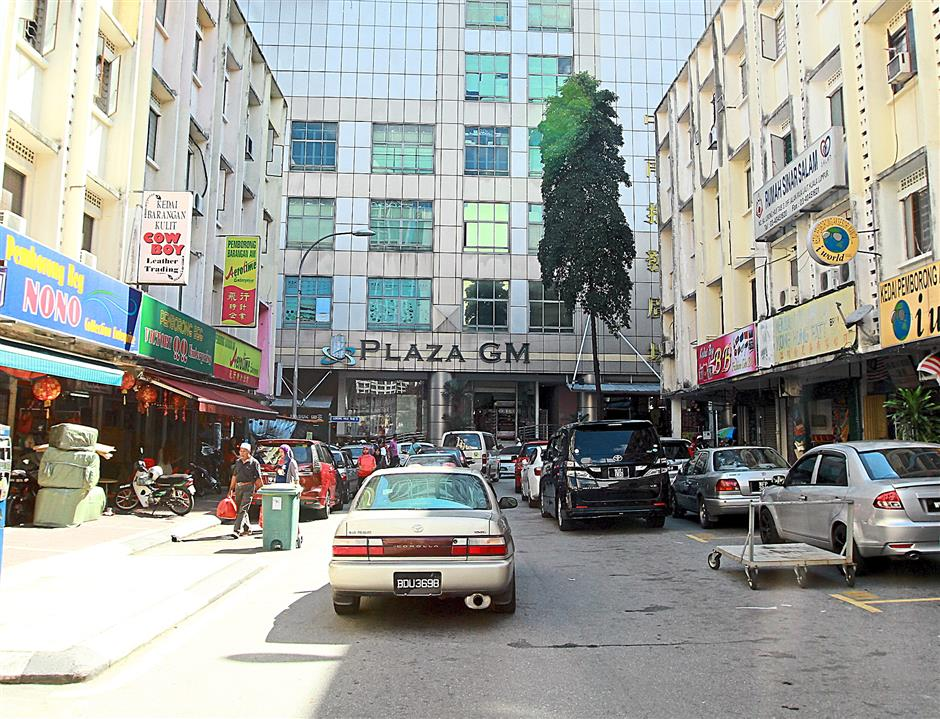 Wholesale hub: Plaza GM is filled to the brim with all kinds of fashion accessories and apparel traded on wholesale basis.