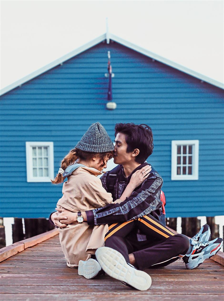 Nadhirah met her now husband Shayiful through Vine, but only decided to get together after meeting him in person and seeing his IRL personality. — Nadhirah Zamani