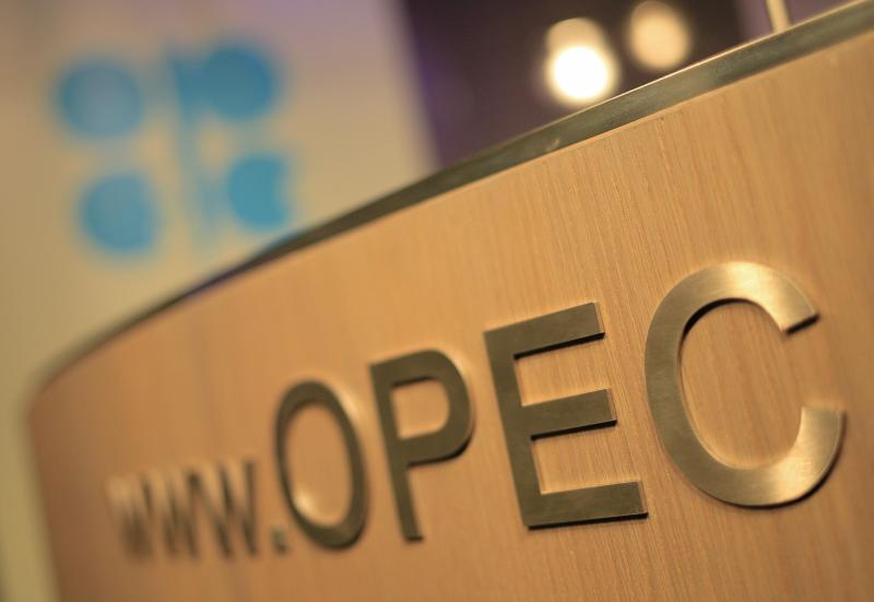 Opec officials hope that US oil companies would be badly hit by an over 50% slide in crude prices since last June once their hedges run out, but many companies are racing to revamp their policies and cashing in well-placed hedges to increase the number of future barrels hedged - AFP Photo.