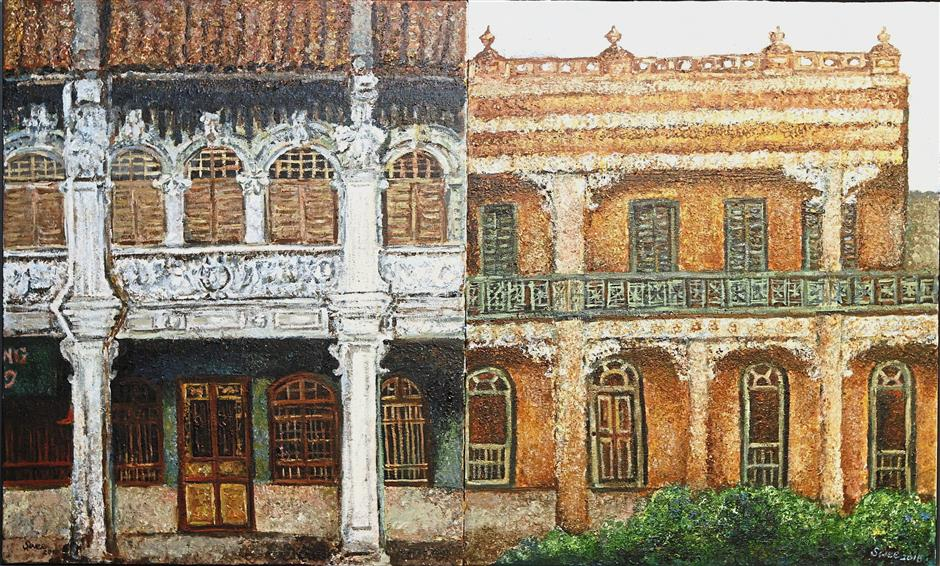 'Penang - Adelaide Heritage Houses' contrasts the different styles of historic buildings in the two cities.