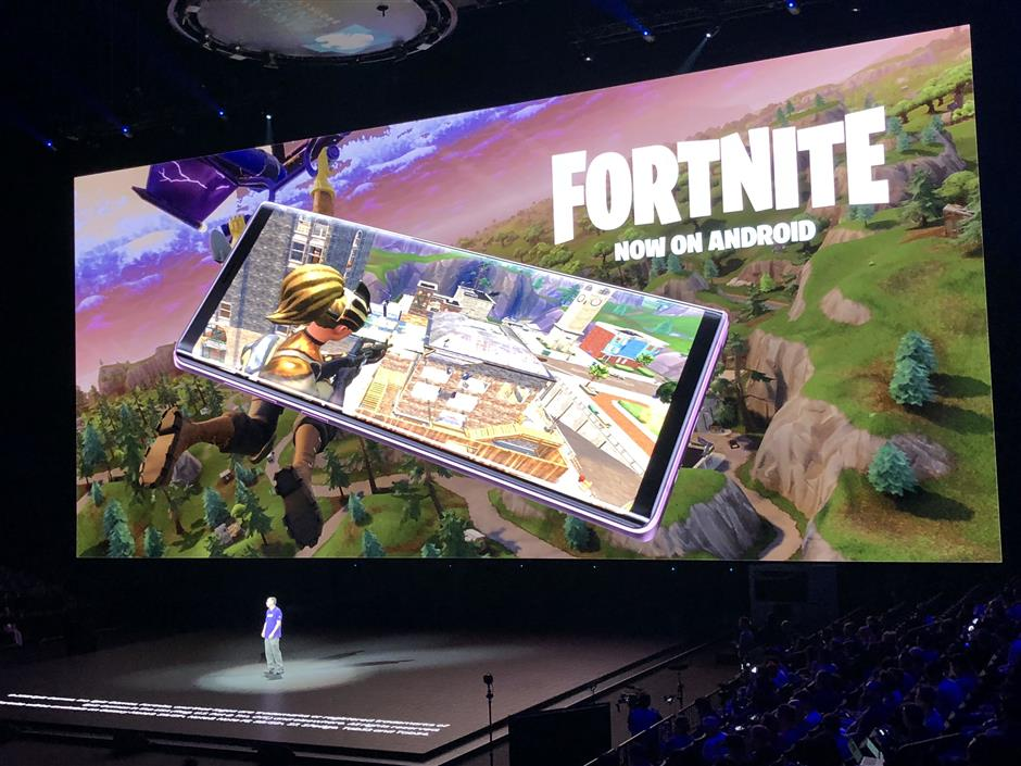 Fortnite' mobile is exclusive to Samsung devices for now | The Star