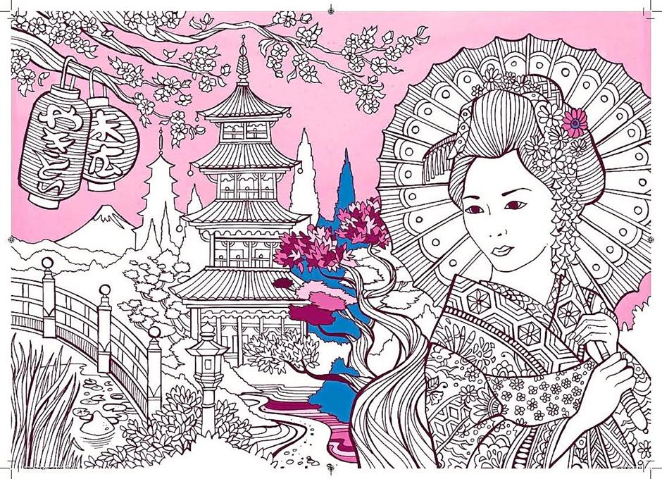 Beat stress and sleep better with colouring books for adults ...