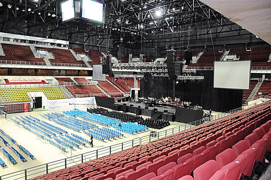 Putra Stadium in KL where the David Foster and Friends show was held in October 2011. Simargolang said production costs to put up a show could be up to RM6 to 7mil
