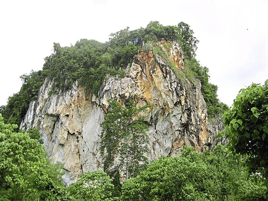 Gua Badak has been quarried, showing how much we appreciate our natural and historical legacy.