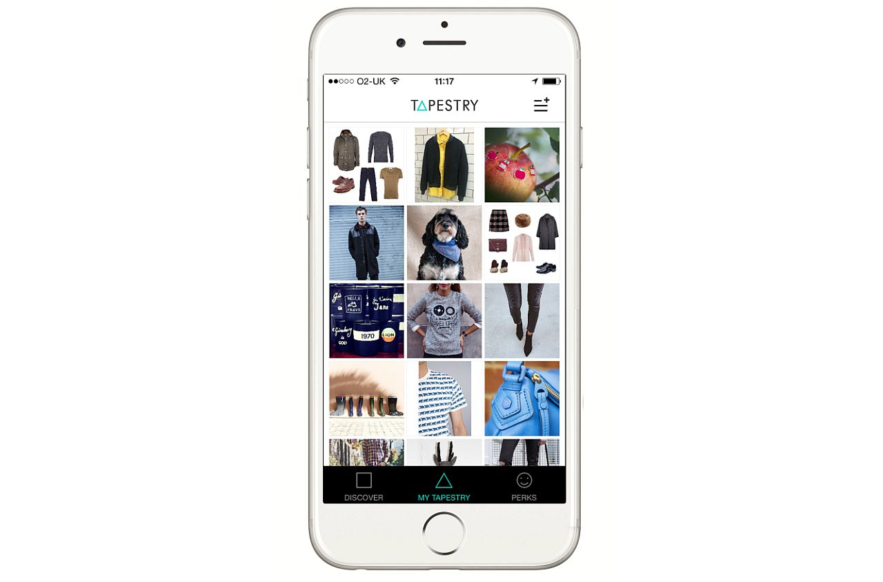 SNAGGING CUSTOMERS: The London department store has teamed up with Tapestry to offer customers a new social shopping experience. u2014 u00a9Tapestry