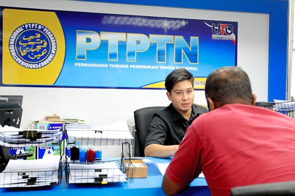 Irresponsible borrowers: The problem with PTPTN is that 51% of the three million recipients are not responsible borrower as they have either not serviced their loans or are inconsistent in their repayment obligations.