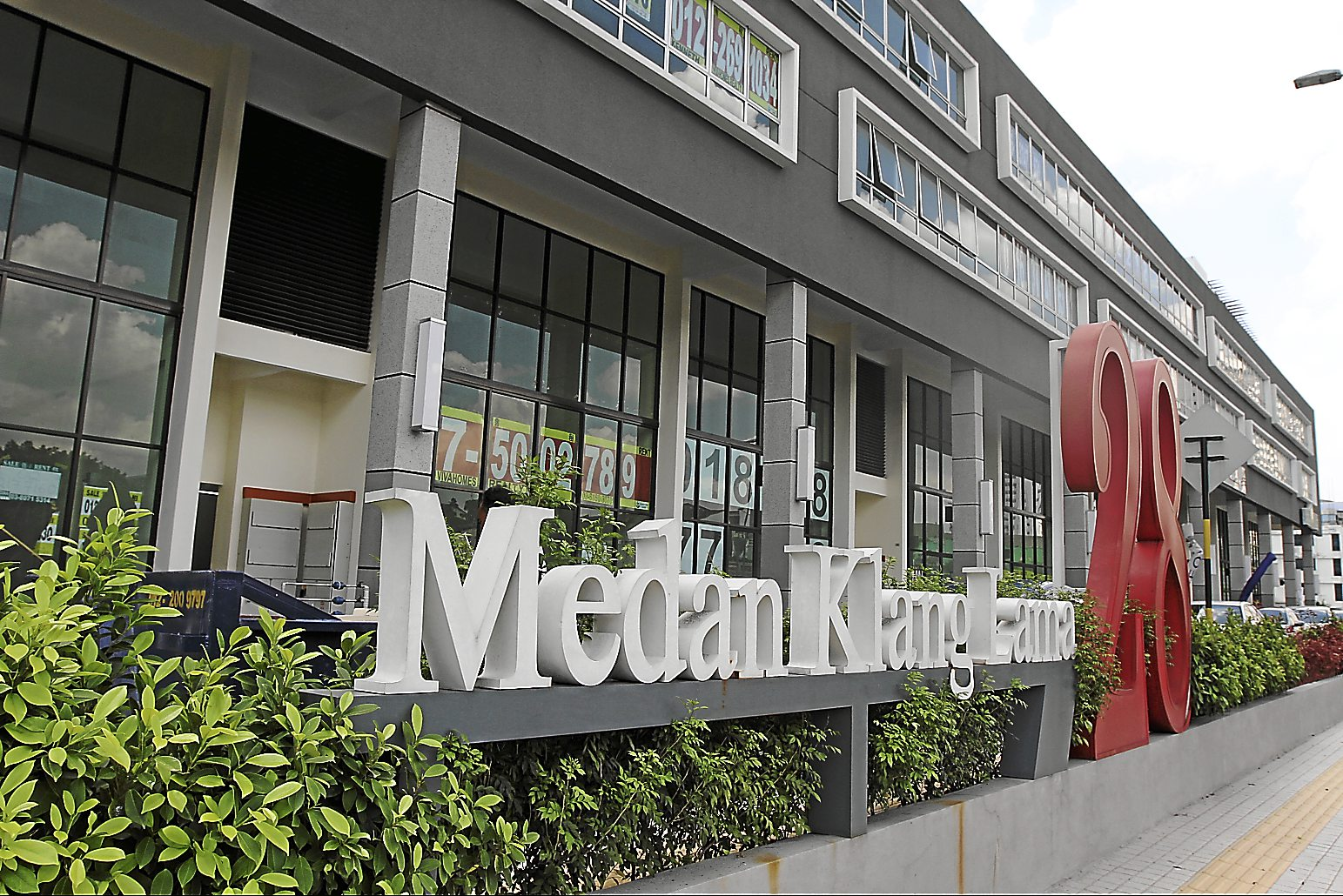 Medan Kelang Lama 28 is open for business but its units are not fully occupied yet.