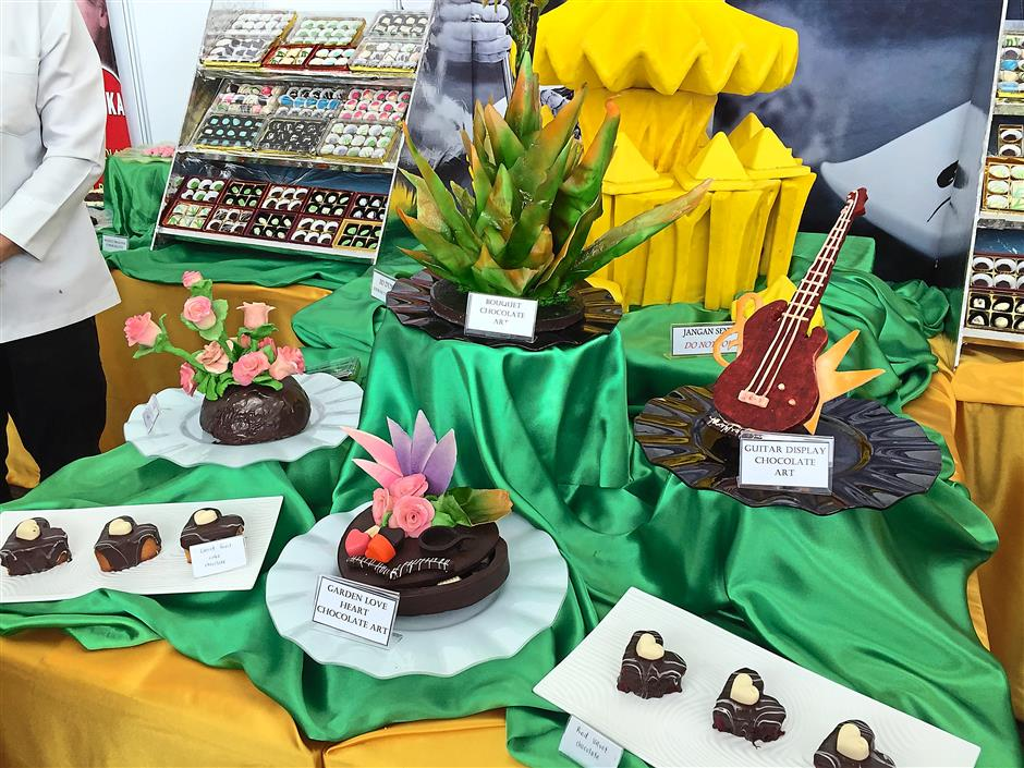 A delectable display of Yahos School of Skills students at the exhibition at BCCK.
