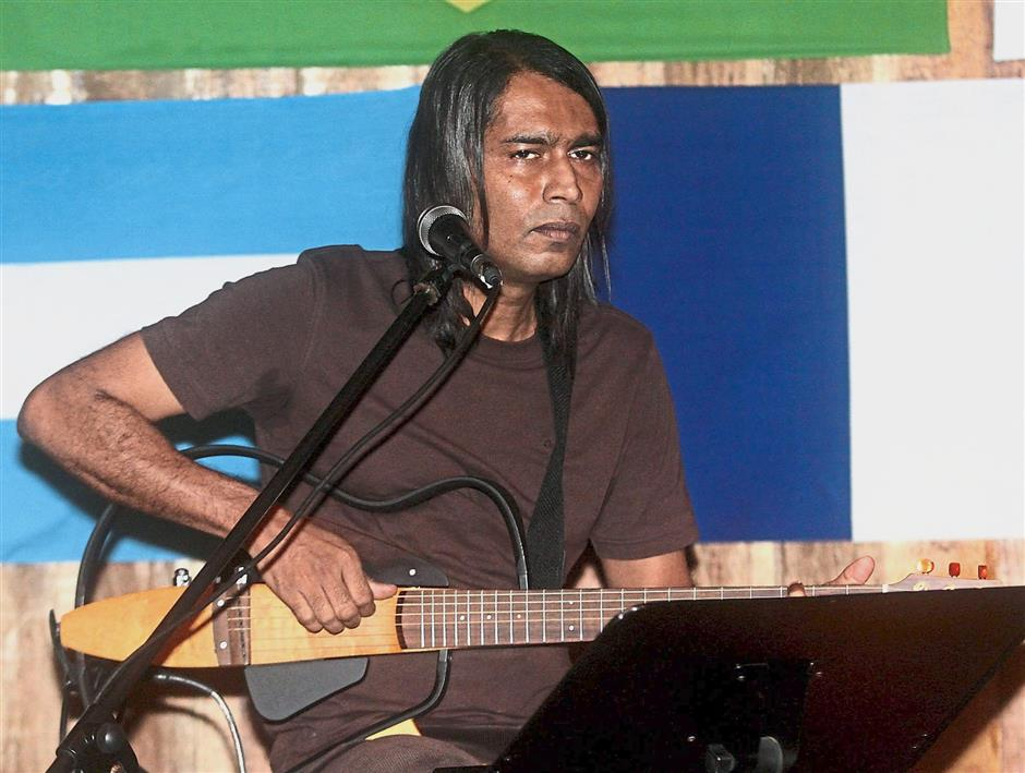 Albert Sirimal is half of Double Aze who appear in Backyard on Sundays.