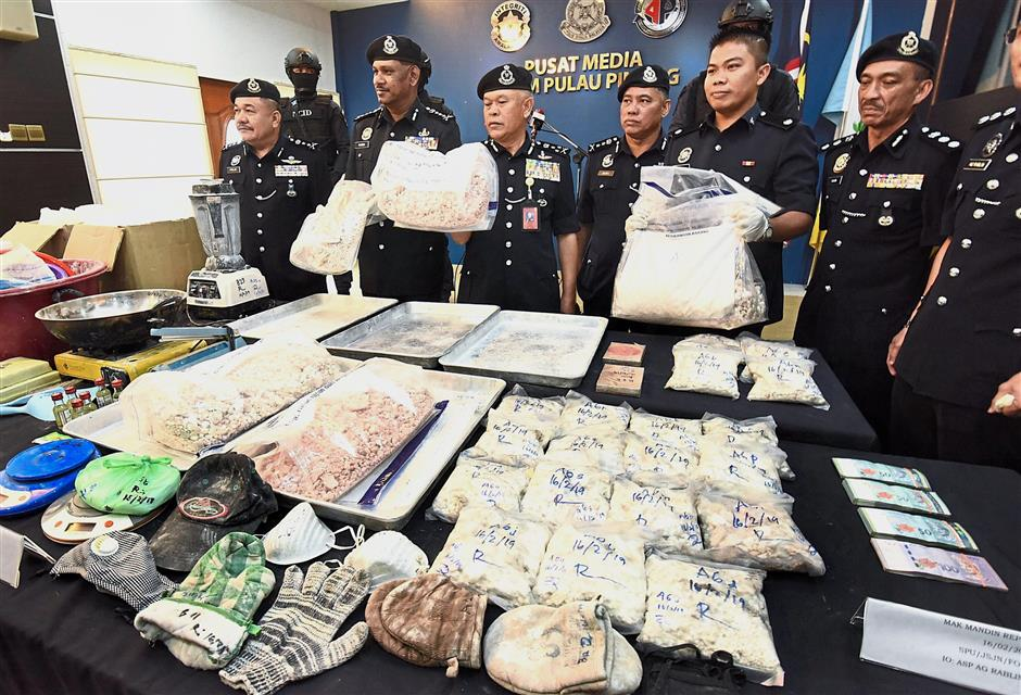Drugs worth RM556,000 seized in Penang | The Star Online