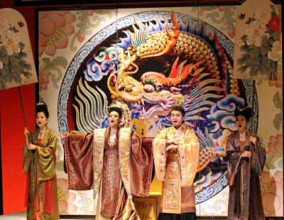 Empress Wu u2013 The Musical has been nominated in each of the nine categories under the musical theatre section