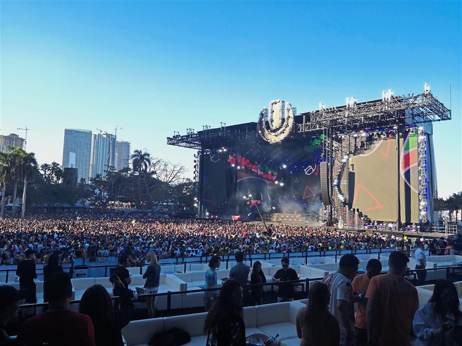 The Ultra Music Festival has grown spectacularly from a one-day event catering to about 10,000 people to its current three-day format with more than 100,000 guests.
