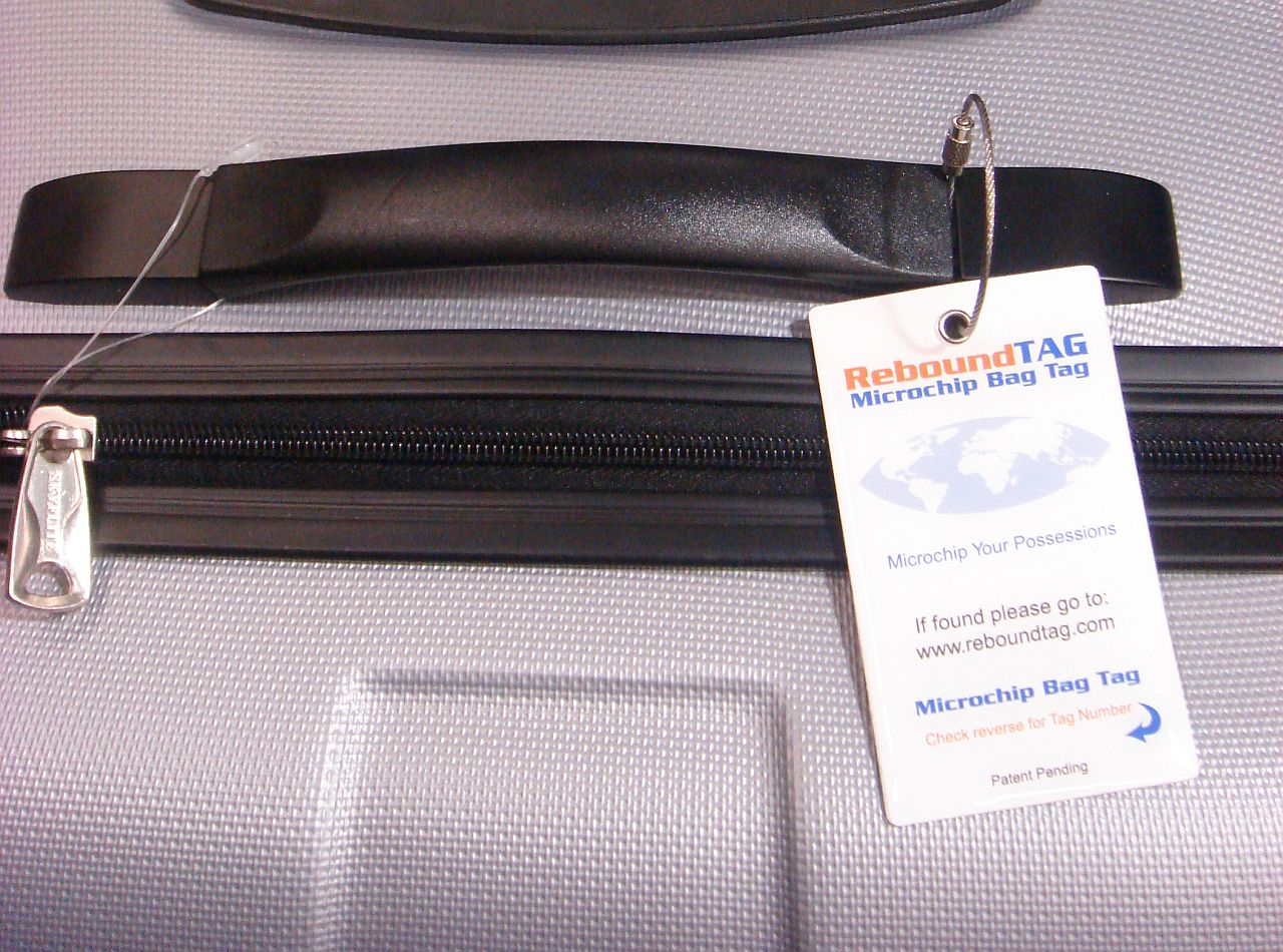 ReboundTAG: The high-tech answer to lost luggage going