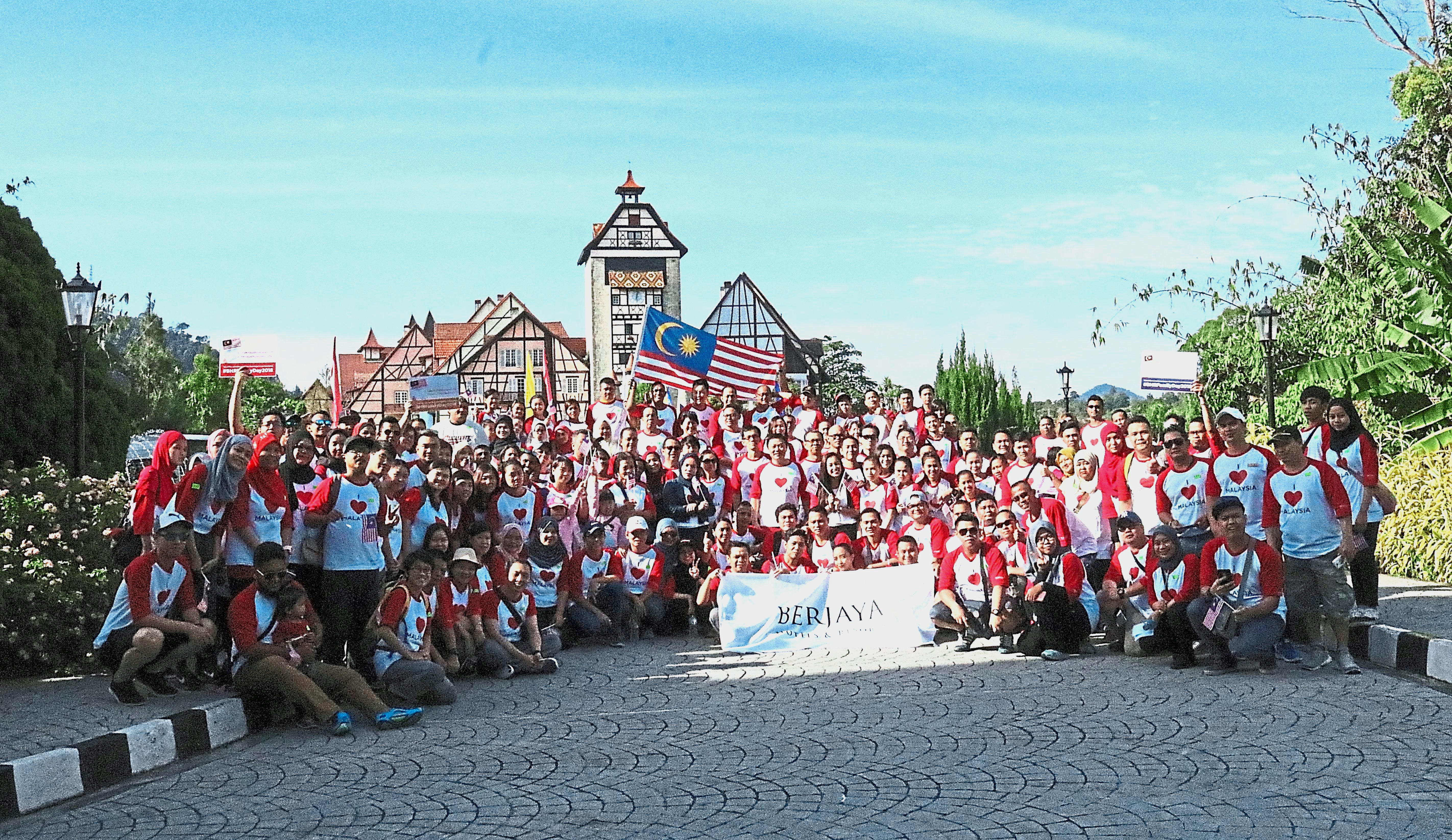 Some 230 employees from various Berjaya Hotels & Resorts properties in Malaysia participated in BHR Family Day 2018 in Colmar Tropicale and The Chateau Wellness Resort.