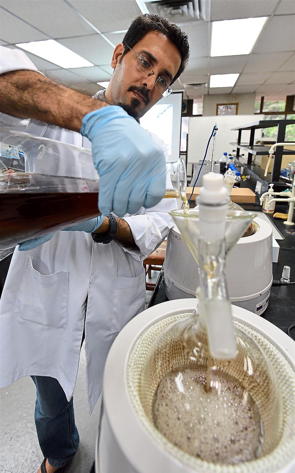 It will be a few years yet before red seaweed can be used to produce bioethanol.