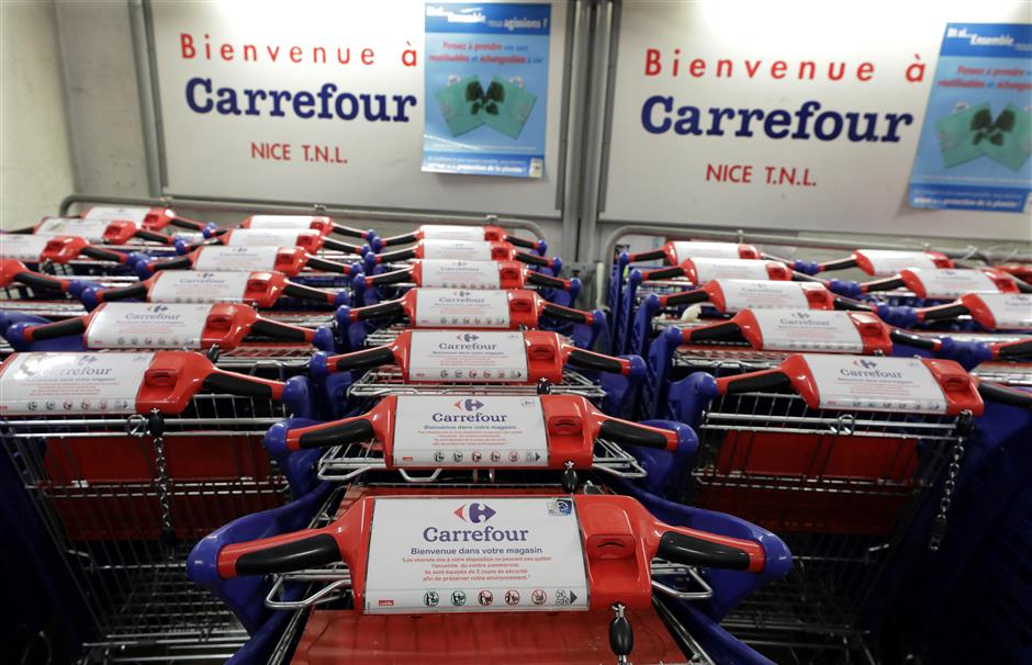 Carrefour france logo