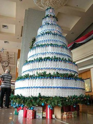 Christmas Tree Recycled Ideas.Xmas Tree Of Recycled Bottles The Star Online
