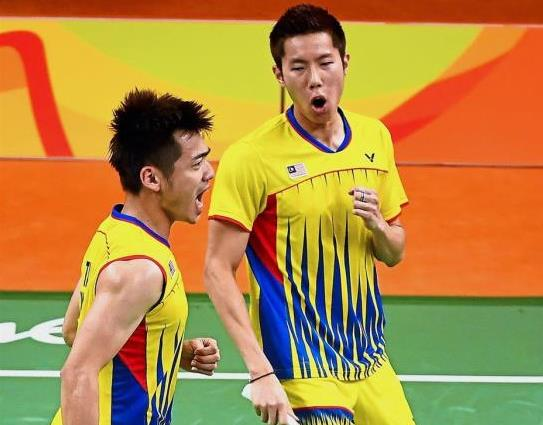 Fingers crossed: Goh V Shem and his partner Teo Ee Yi are hoping they can create an upset in the first round of the China Open tomorrow.
