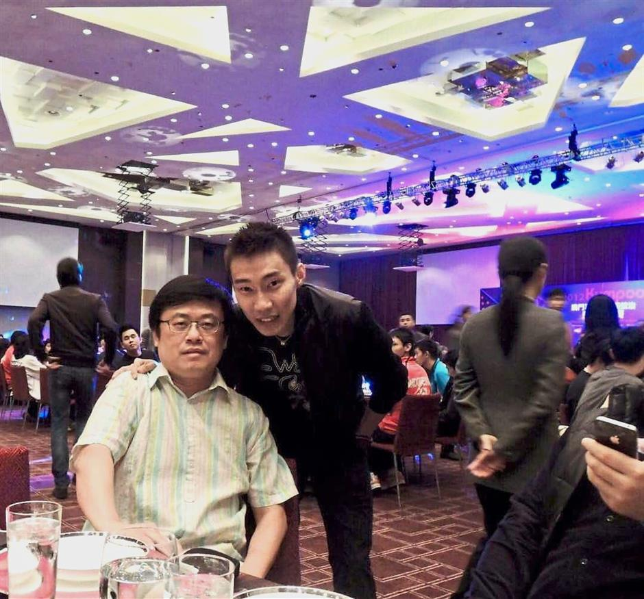 How Kim Tho and Lee Chong Wei during one of the recent events.