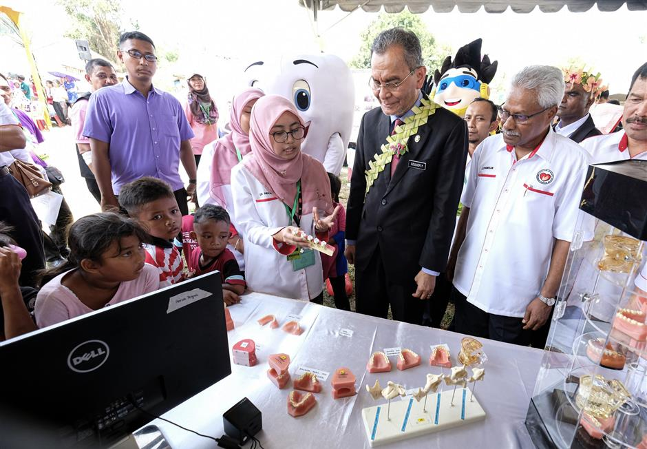 Birth control injections given to protect Orang Asli women from