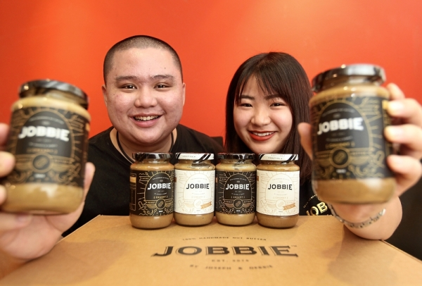 Spreading out: Goh and Ching are looking into plans to export their peanut butter.