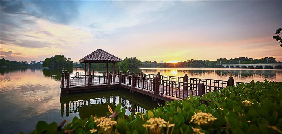 Taman Botanical is one of the many green areas found abundantly in Putrajaya.