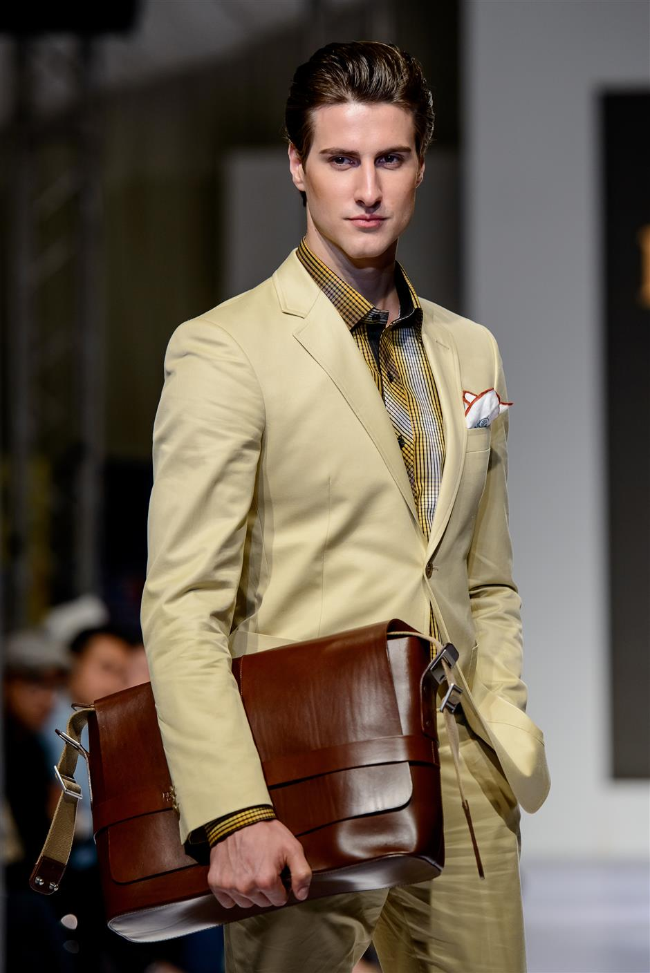 Every modern gent should at least have a few signature suits in his wardrobe.