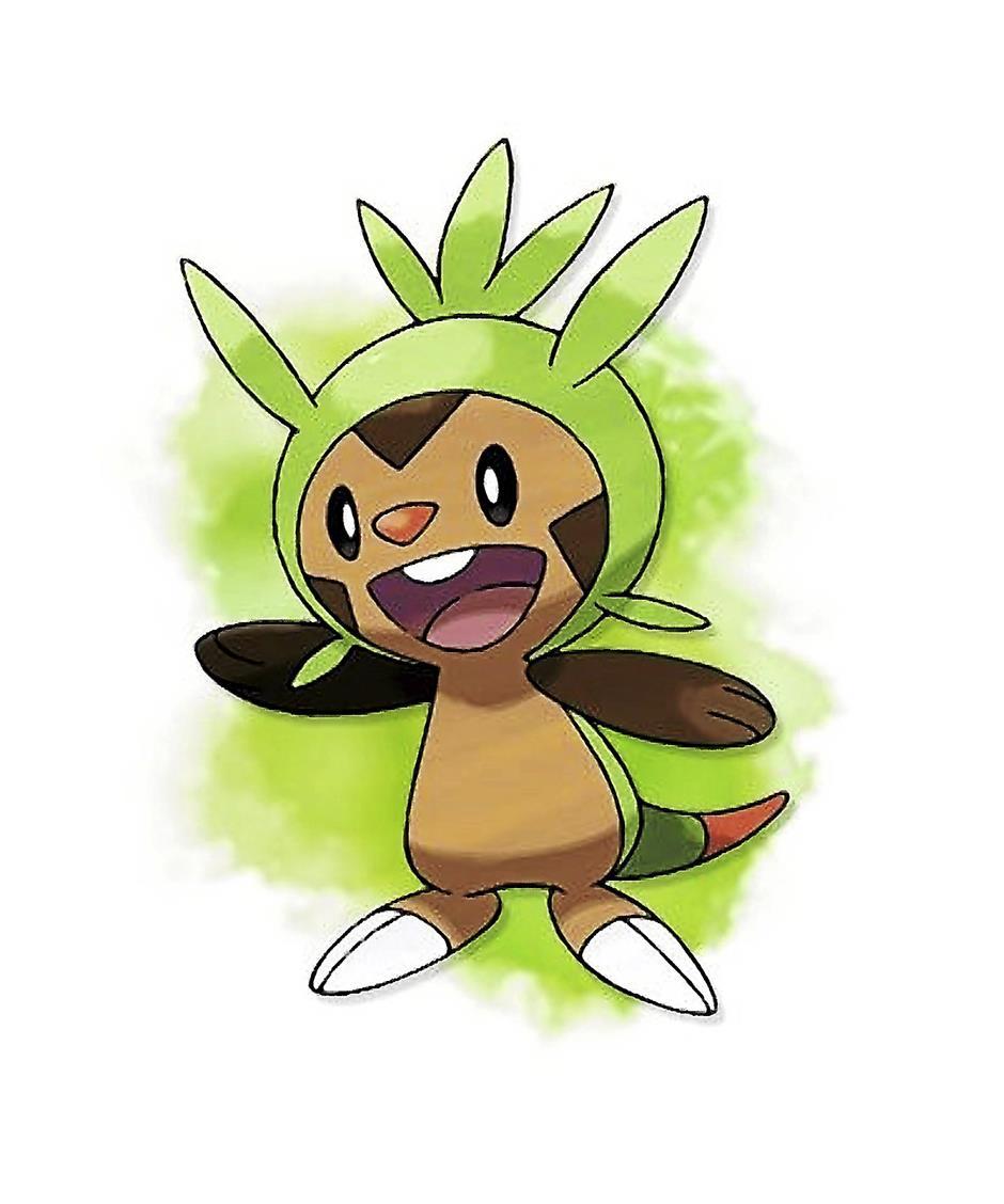 Chespin - The new Grass starter Pokemon