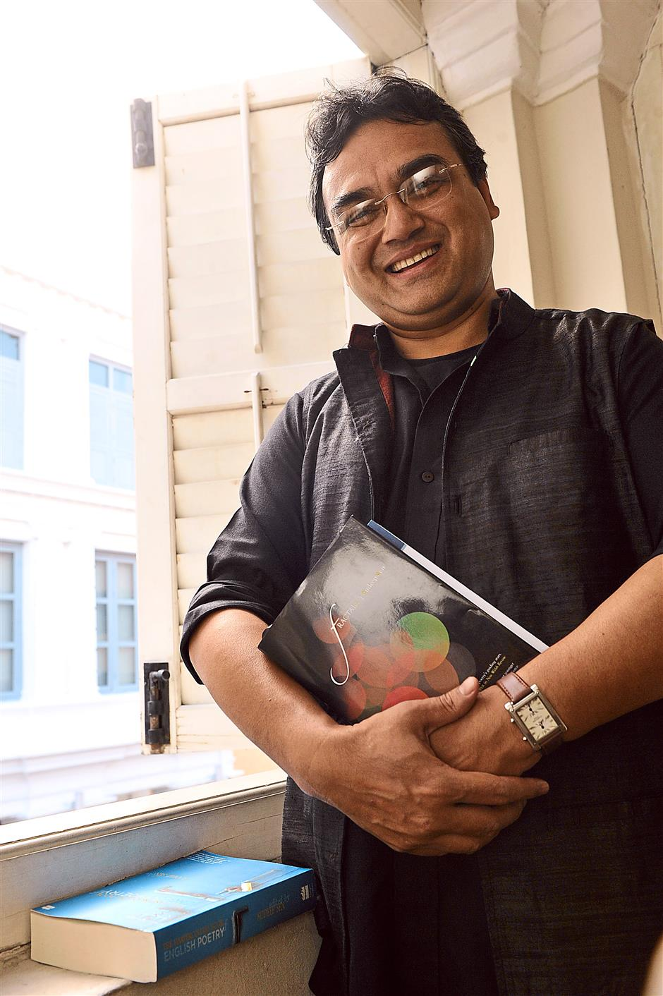 Multi award-wining poet Sudeep Sen feels 'very, very lucky to be involved in poetry' even if it's not something that is financially lucrative. – GARY CHEN/The Star
