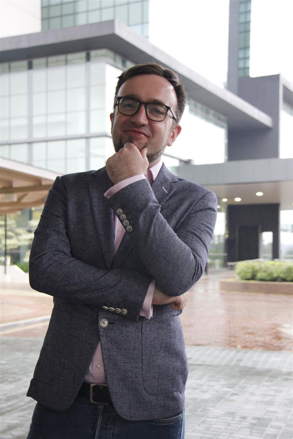 Luxtag CEO Rene Bernard