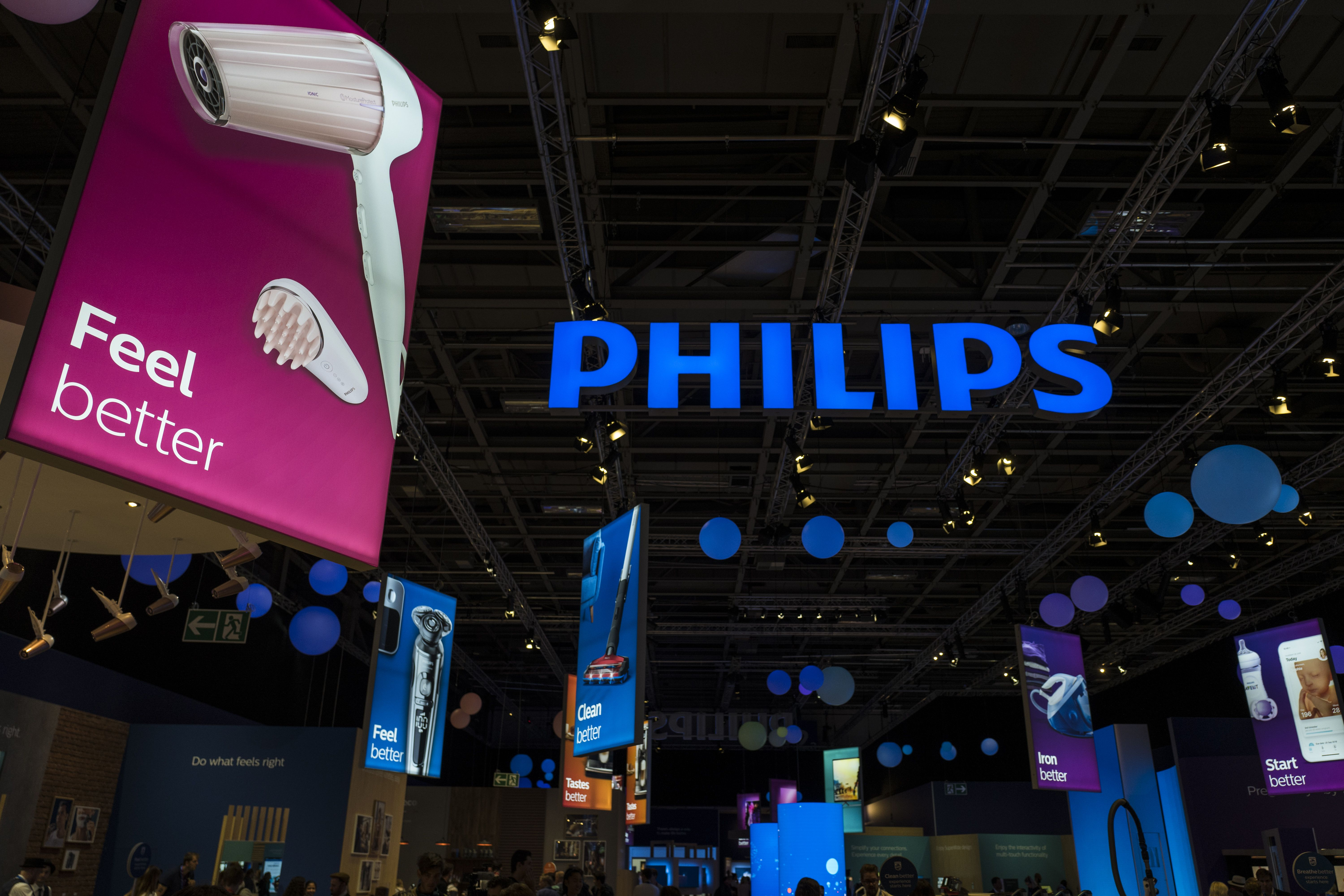 Dutch firm Philips has a soft headband called SmartSleep, which includes a white noise generator that aims to deepen sleep. u2014 AFP Relaxnews
