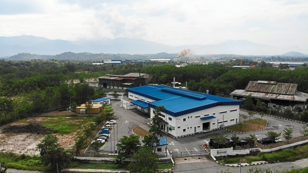 Sizeable operations: Its manufacturing plant sits on a two-acre plot in Kuala Selangor and aims to produce 29 million metres of film next year.