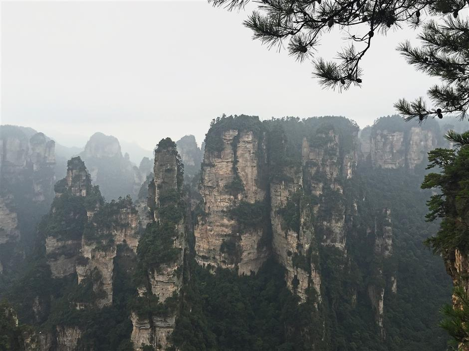 China's world natural heritage site Wulingyuan, a scenic and historical site in Hunan Province, gained international fame for serving as inspiration for the floating mountains in the sci-fi film 'Avatar'.