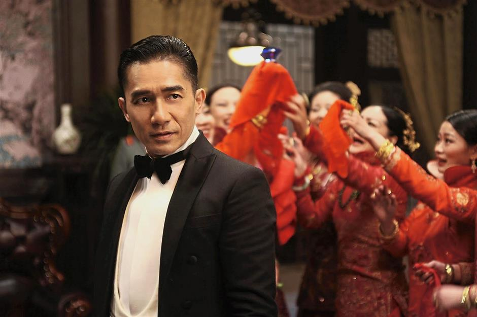 Great feat: Leung is the first Asian filmmaker to receive the Chaplin Award.