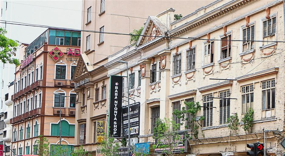 A row of pre-war buildings in the city shows that Kuala Lumpur has potential to be in the Unesco list.