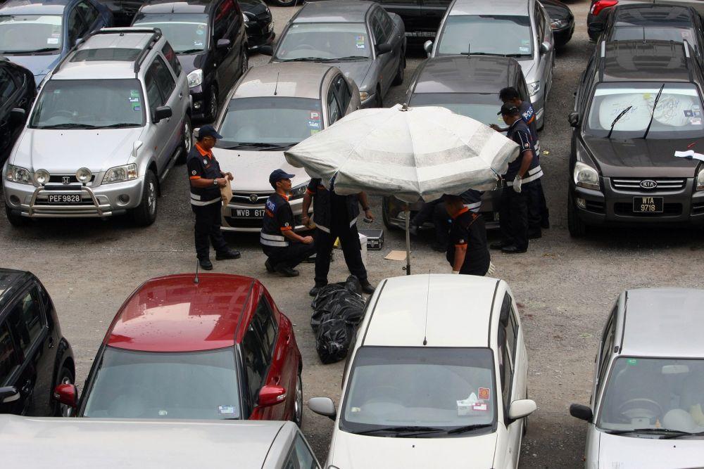 AmBank founder Hussain Ahmad Najadi was shot dead in a parking lot in Kuala Lumpur.