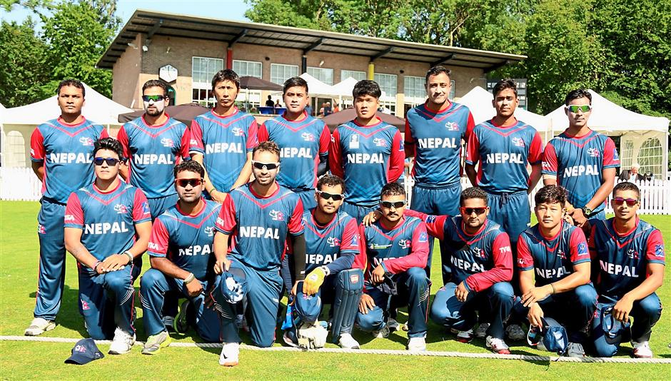 the Nepal national cricket team that will come to KL for a fund-raising match designed to help out those affected by the earthquake.