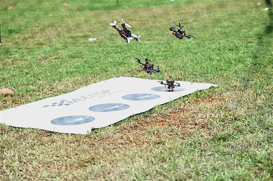Drone racing is very much like videogames because you need good reflexes, which is why teens dominate the circuit.