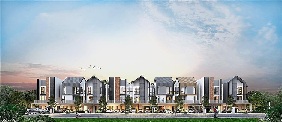 Multiple choice: Being a flexible system, Gamuda IBS can build different designs and building types on the same street, making rows of cookie-cutter houses that lack individuality a thing of the past.