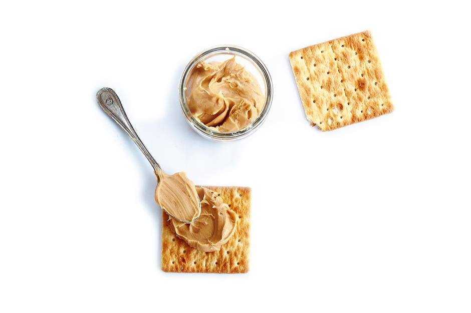 Rich spread: Julies sells everything from cream crackers to the popular Peanut Butter Sandwiches.