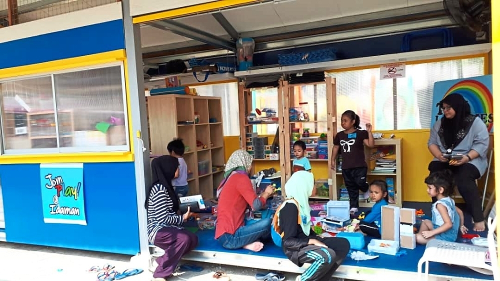 A toy library in Apartment Idaman in Damansara Damai is residents and NGOsu2019 fruit of labour. u2014 Filepic