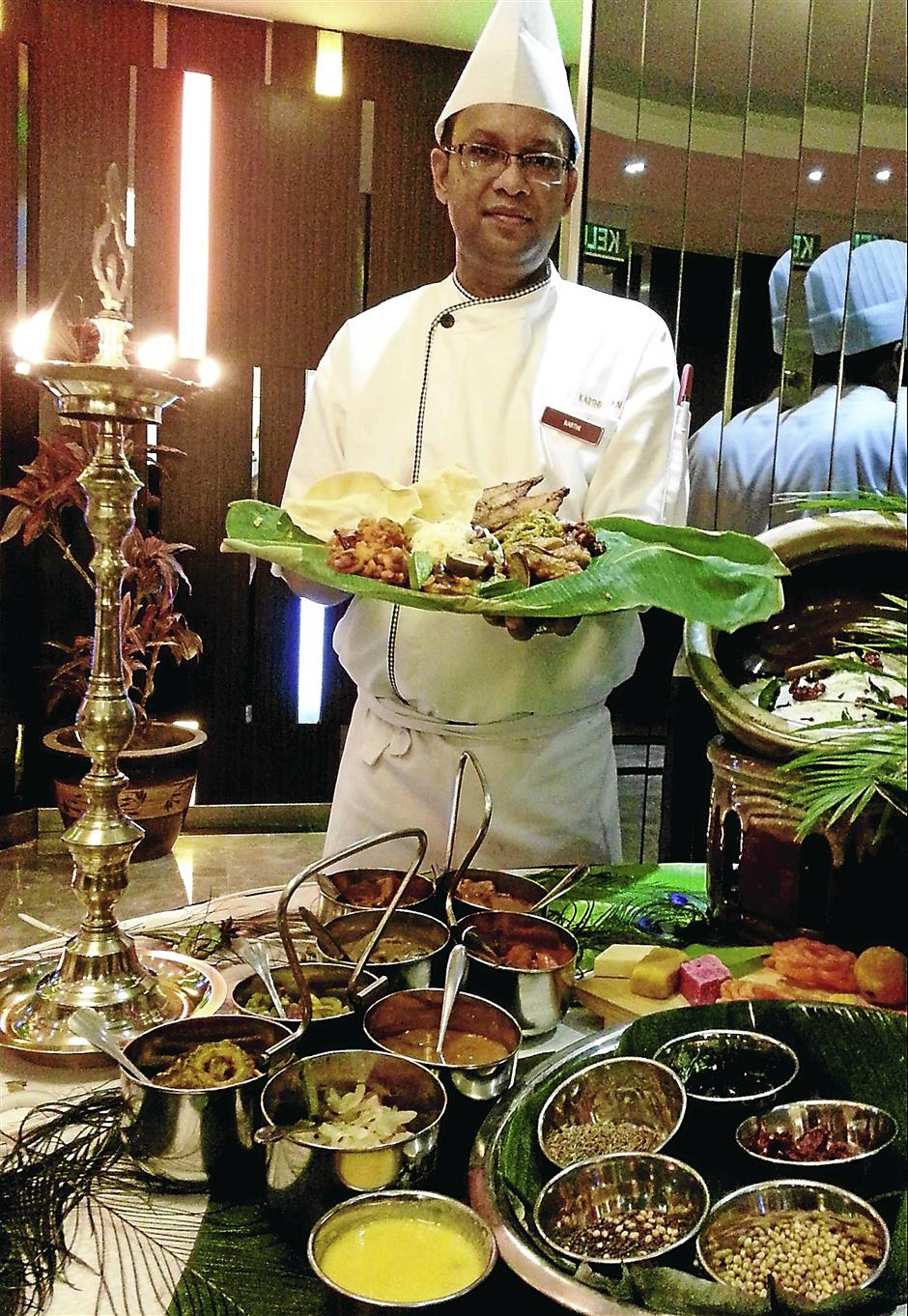 Chef K. Karthigayan will be dishing up Chettinad curries during the Flavours of Chettinad promotion at Grand Lexis Port Dickson from now until November 30.