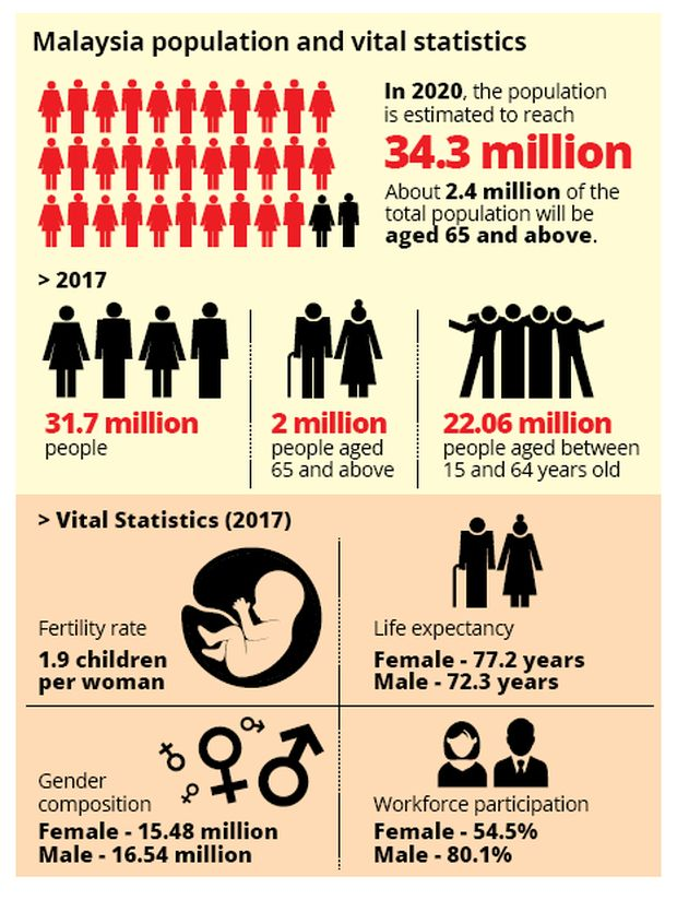 Malaysia To Become Ageing Population By 2020 The Star
