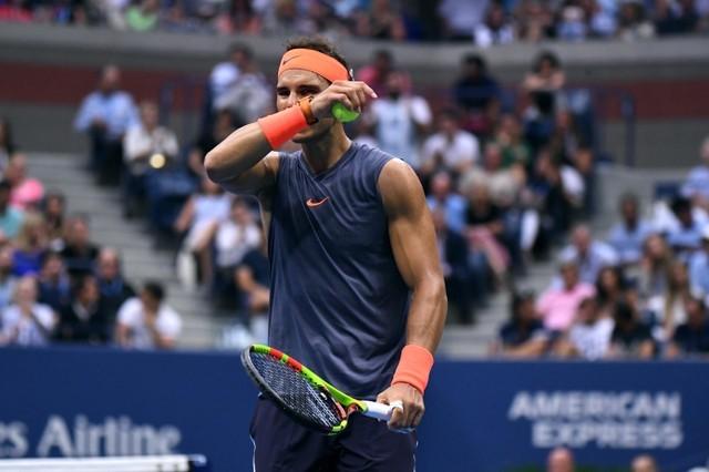 FILE PHOTO: Sep 7, 2018; New York, NY, USA; Rafael Nadal of Spain faces Juan Martin del Potro of Argentina in a men's semi-final match on day twelve of the 2018 U.S. Open tennis tournament at USTA Billie Jean King National Tennis Center. Mandatory Credit: Danielle Parhizkaran-USA TODAY SPORTS